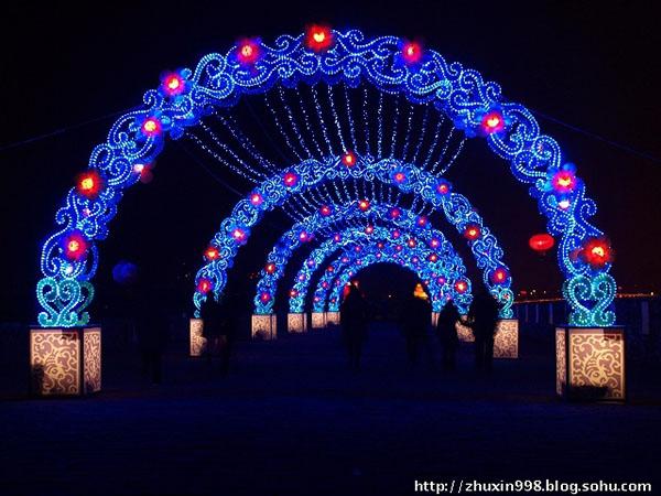 光雕灯拱门
